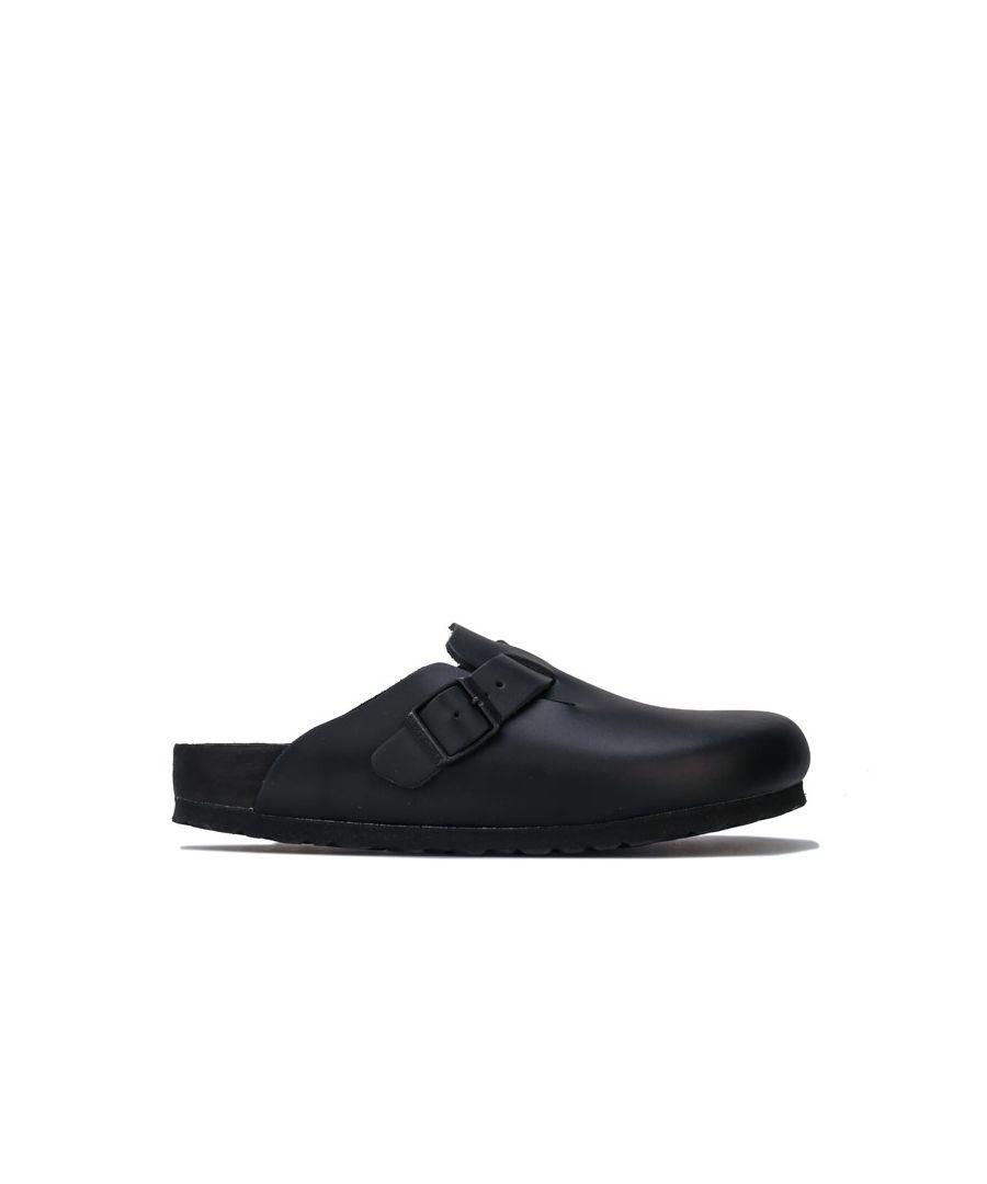 Image for Women's Birkenstock Boston NL Exquisite Sandals in Black