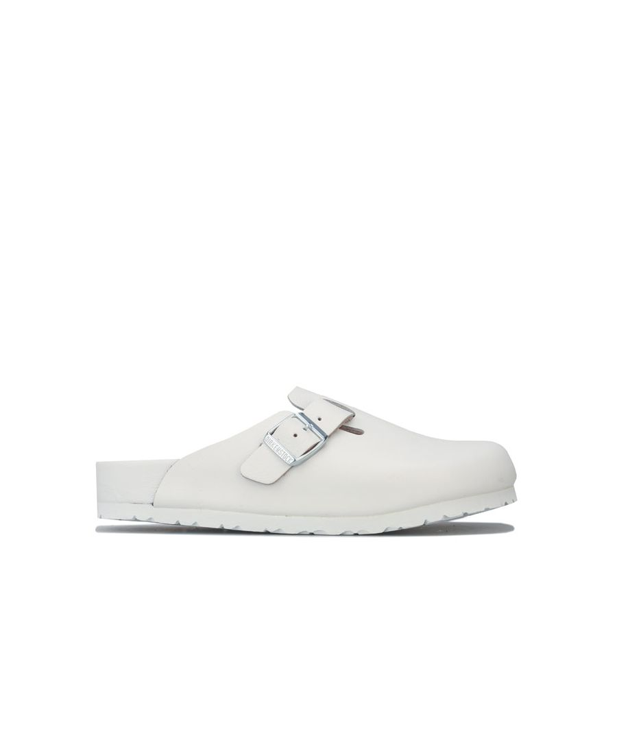 Image for Women's Birkenstock Boston NL Exquisite Sandals in White
