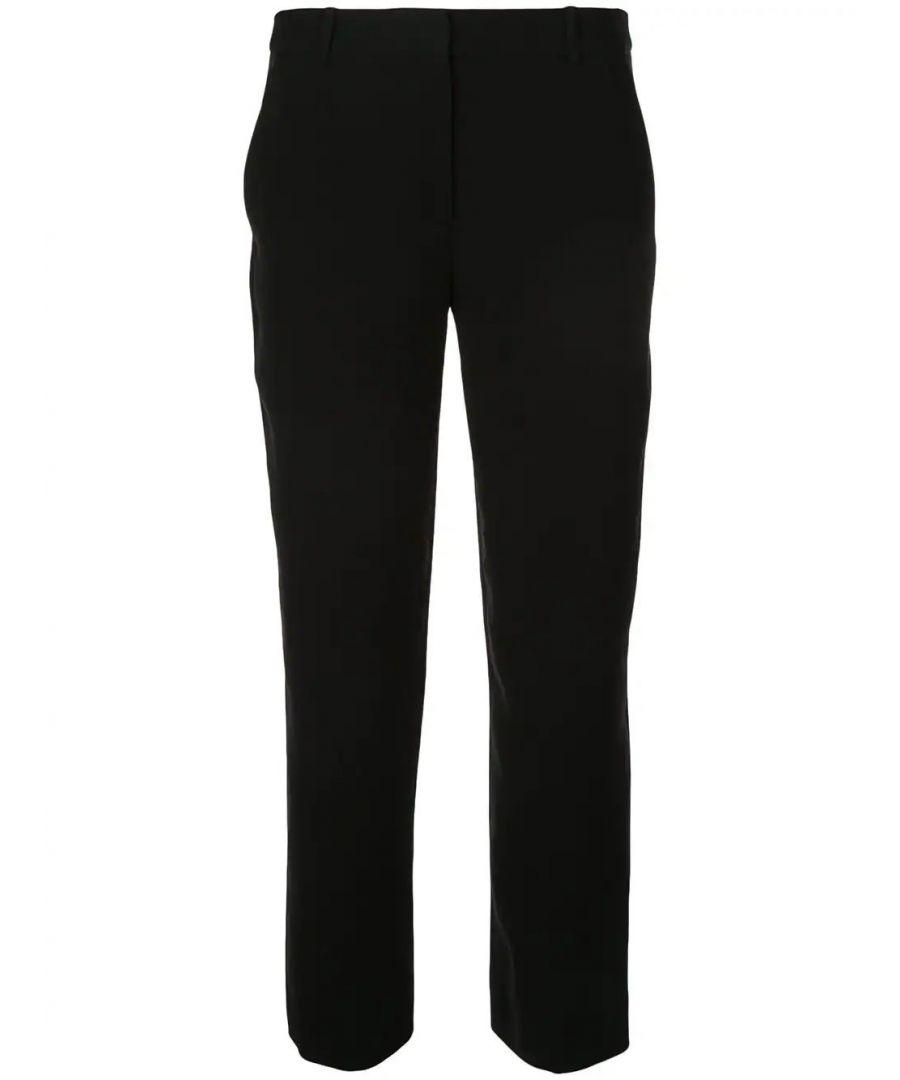 Image for DIANE VON FURSTENBERG WOMEN'S 13249DVFBLACK BLACK SYNTHETIC FIBERS PANTS