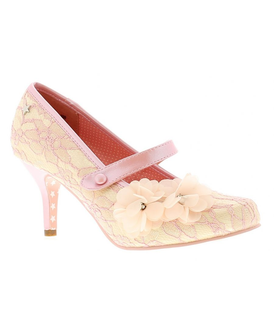 Image for Joe Browns Couture Louisa Womens Ladies Occasion Shoes Pink