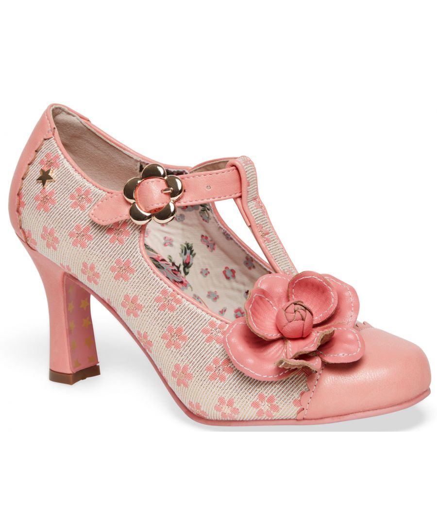 Image for Joe Browns Couture Cecelia Womens Occasion Shoes Peach/Cream