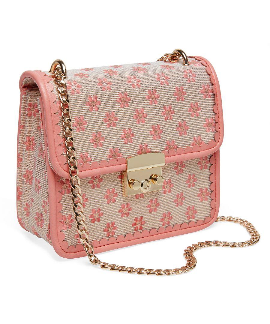 Image for Joe Browns Couture Cecelia Bag Womens Bag Peach/Cream