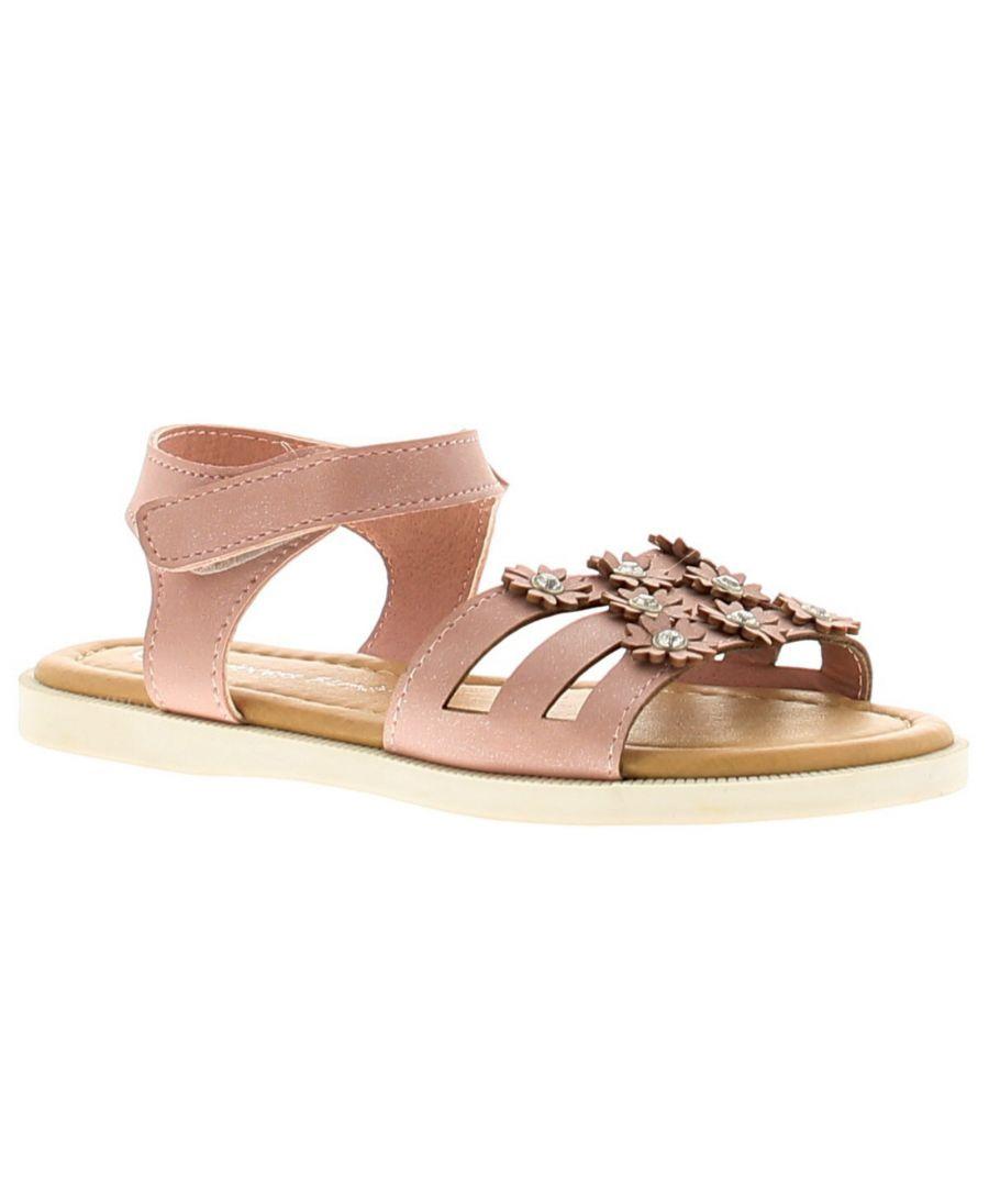 Image for Princess Stardust Skyla Girls Kids Summer Sandals Pink