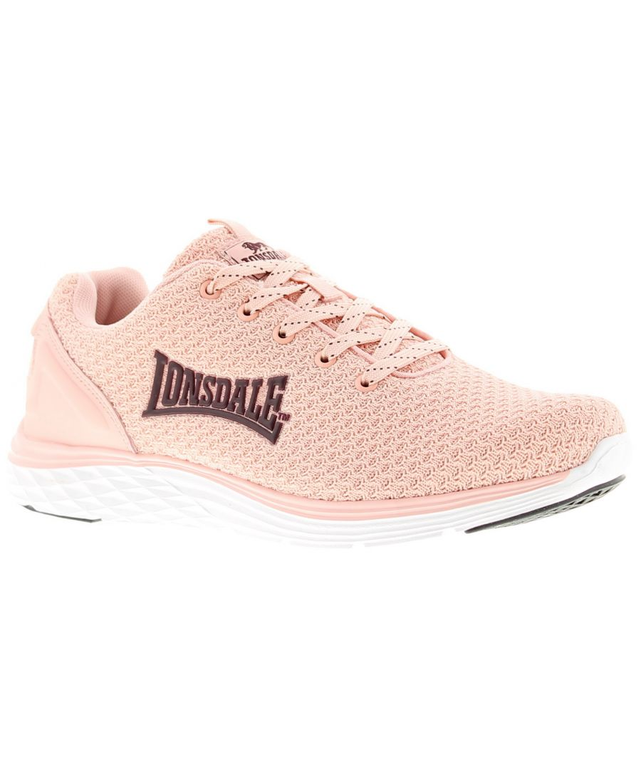 Image for Lonsdale silwick Womens Trainers pink