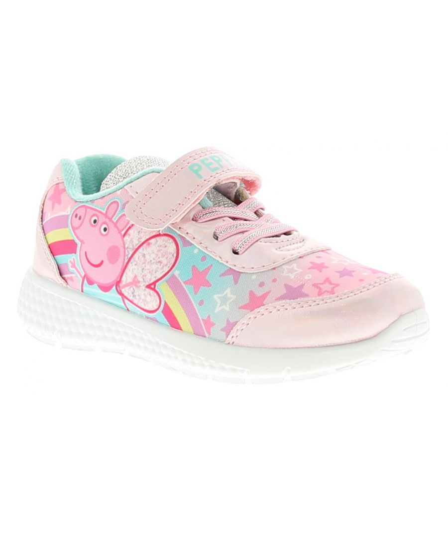Image for Peppa Pig peppa pig girls kids trainers pink