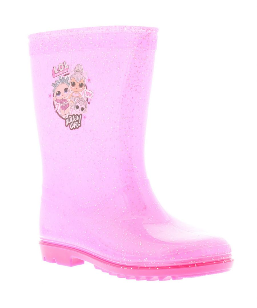 Image for LOL Surprise glitter Girls Wellies pink