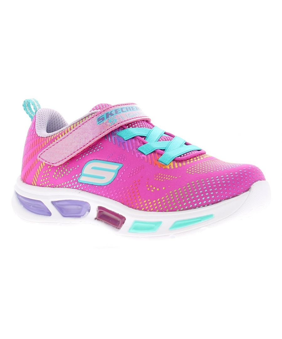 Image for Skechers Litebeams gleam Younger Girls Trainers 4-9
