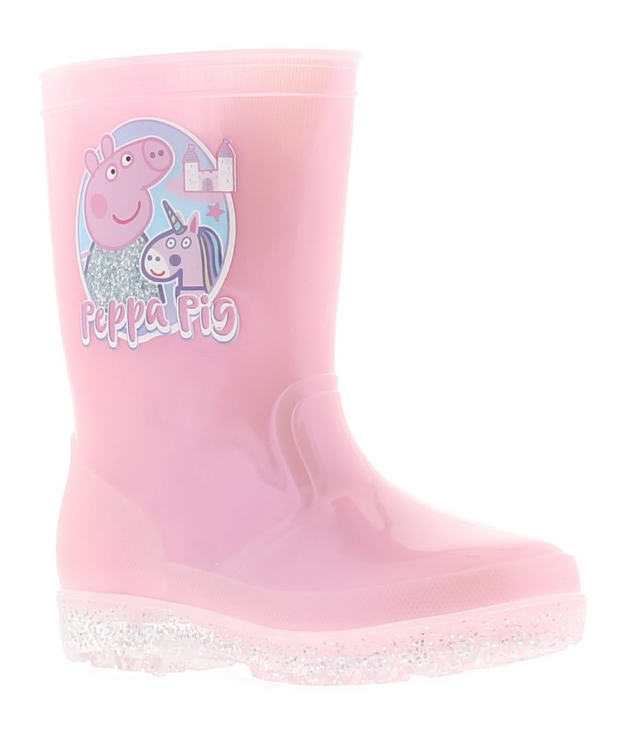 Image for Peppa Pig galil girls kids wellies wellington boots pink