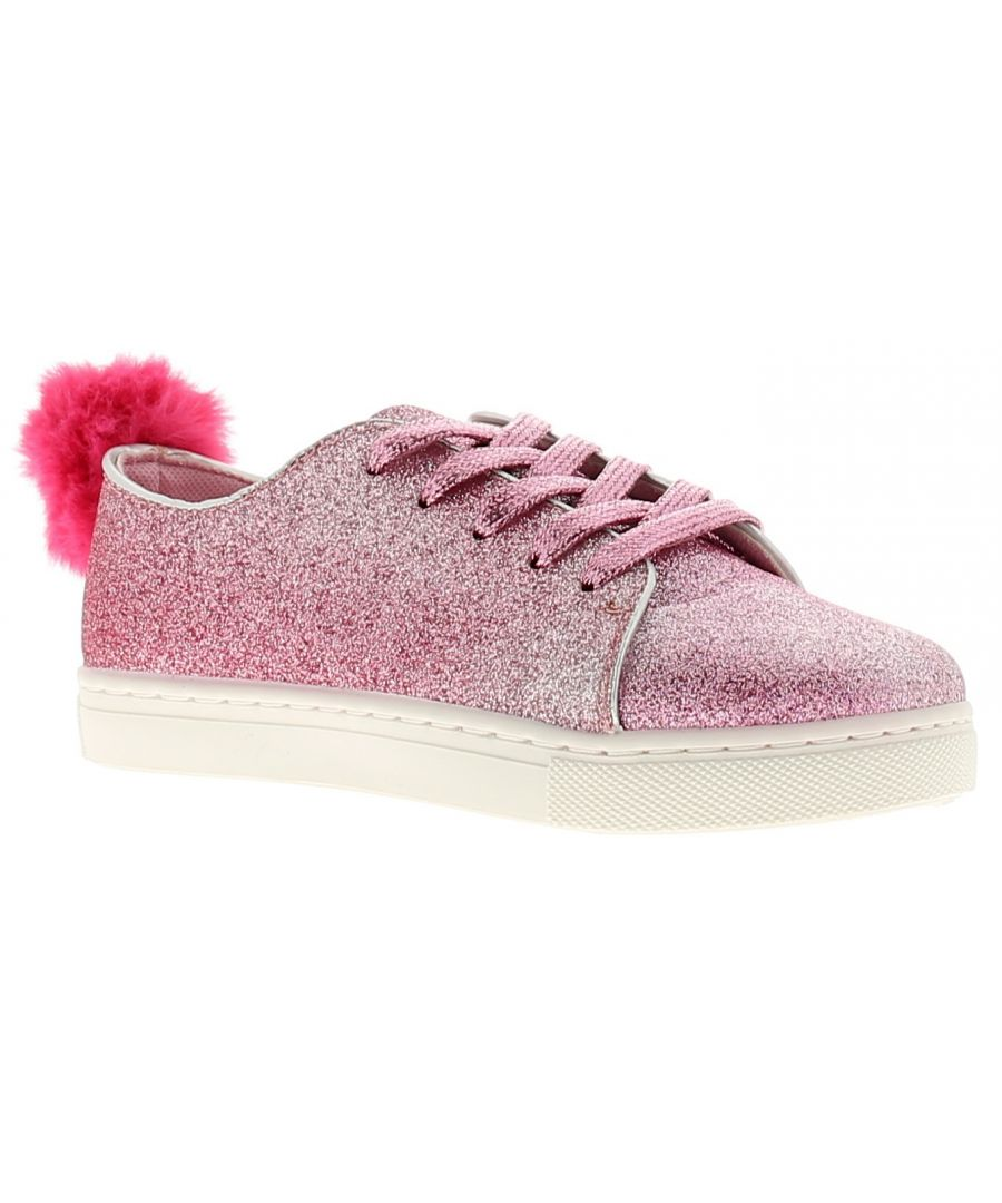 Image for Buckle My Shoe syoni low girls kids shoes pink
