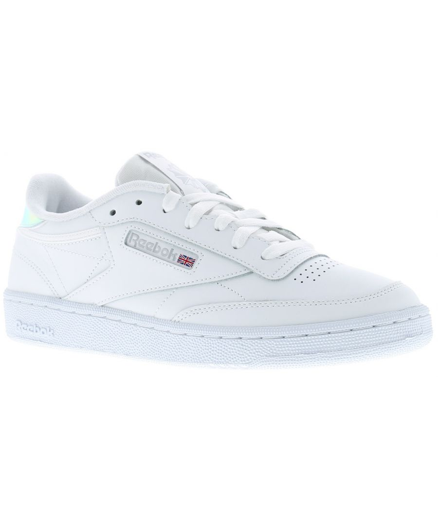 Image for Ladies Lace Up Trainers By Reebok