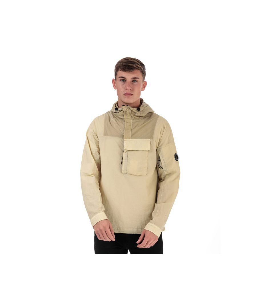 Image for Men's C.P. Company Utility Overshirt Jacket in Cream
