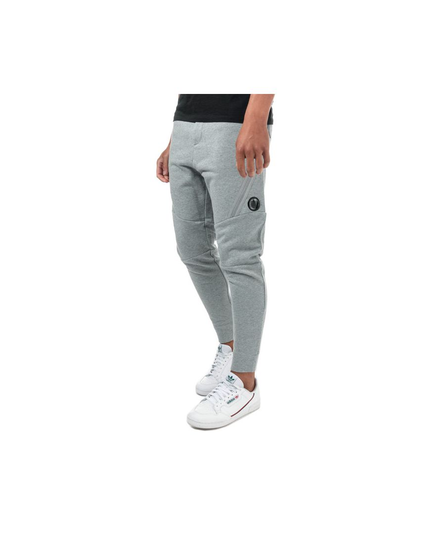 Image for Men's C.P. Company Diagonal Fleece Jog Pants in Grey