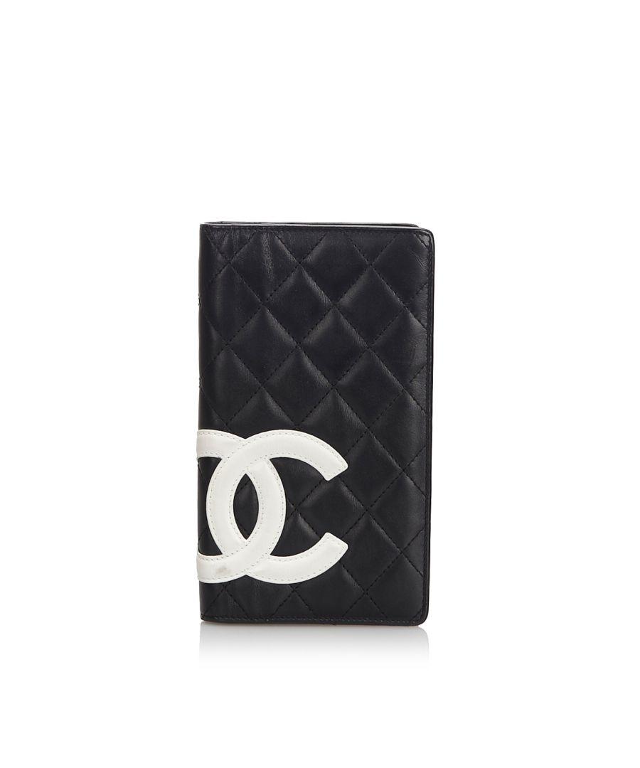 Image for Chanel Cambon Ligne Long Wallet Black