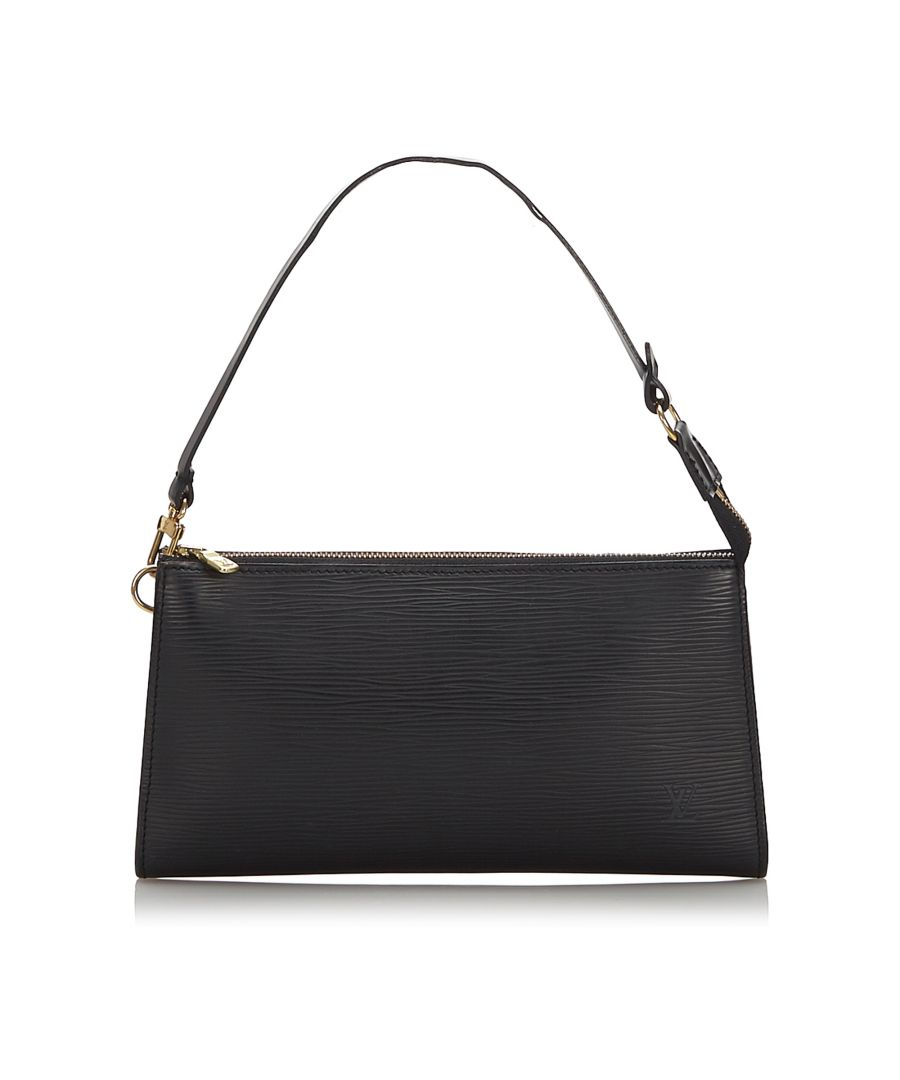 Image for Louis Vuitton Epi Pochette Accessoires Black