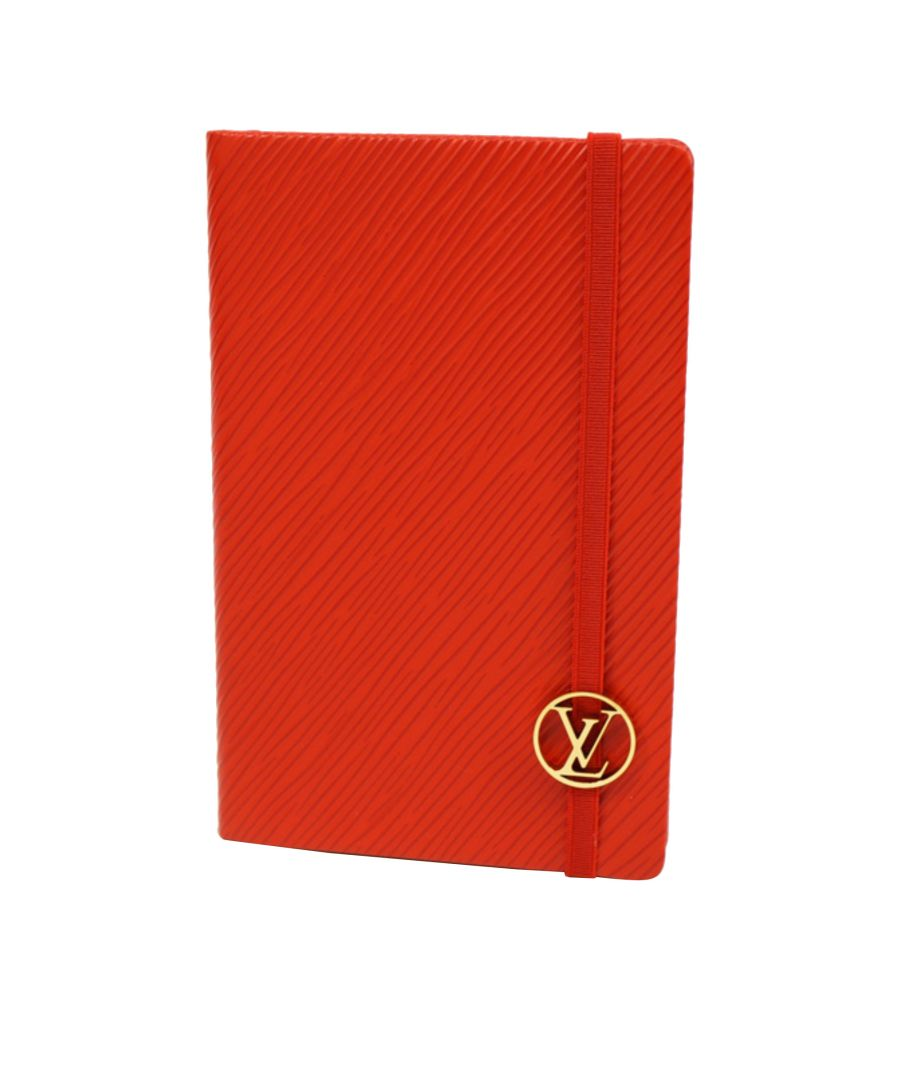 Image for Vintage Louis Vuitton Cahier Gustave PM Notebook Red