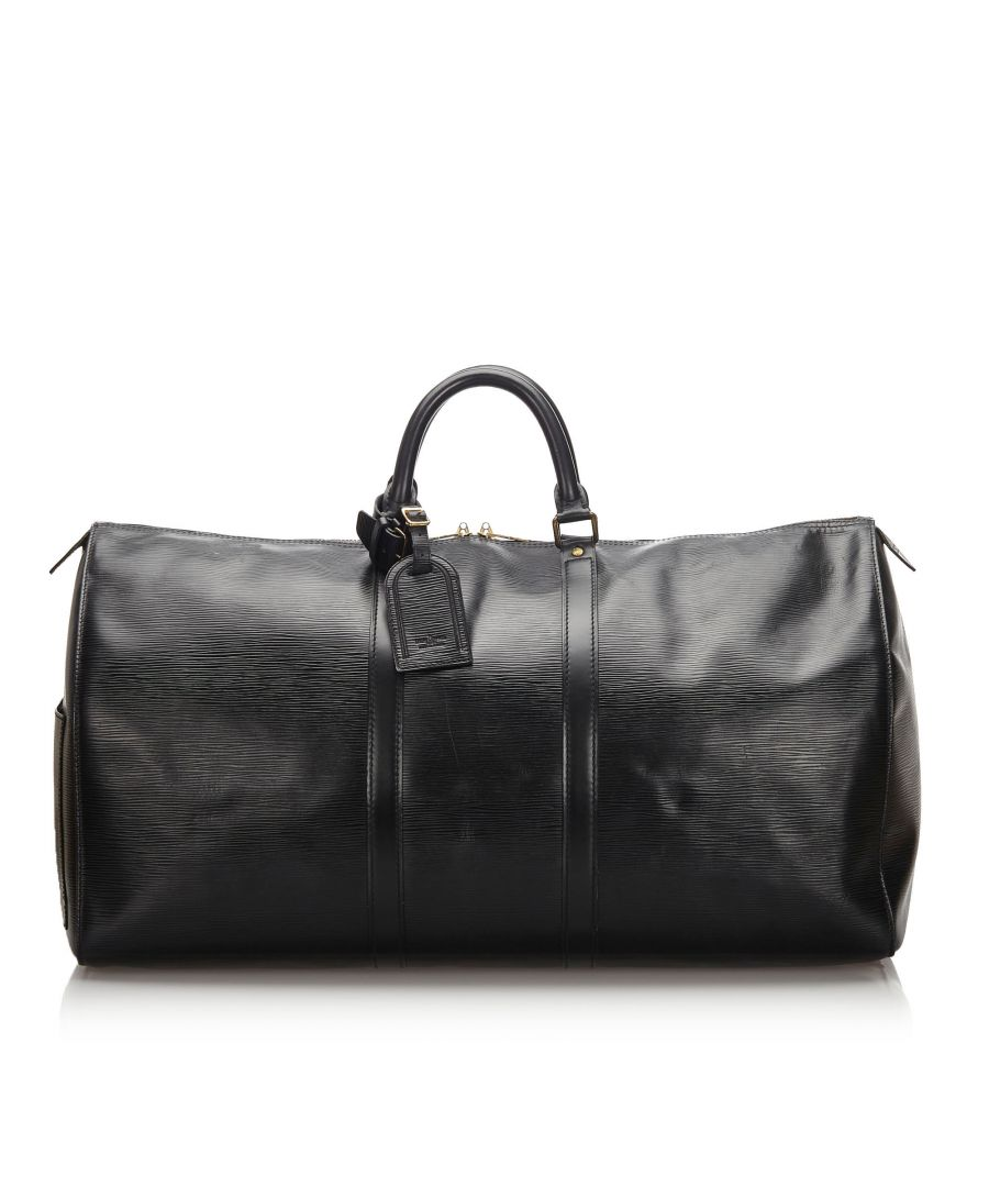 Image for Vintage Louis Vuitton Epi Keepall 50 Black