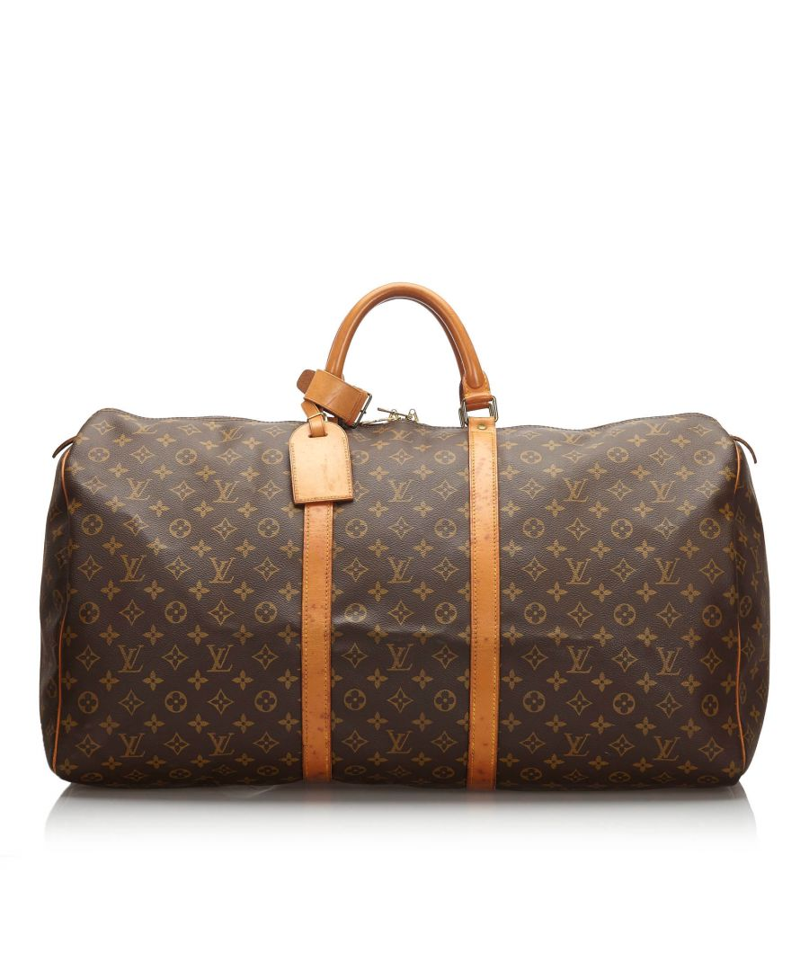 Image for Louis Vuitton Monogram Keepall 60 Brown