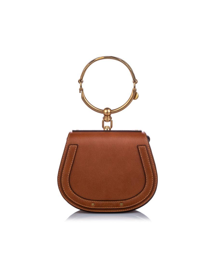 Image for Vintage Chloe Small Nile Crossbody Bag Brown