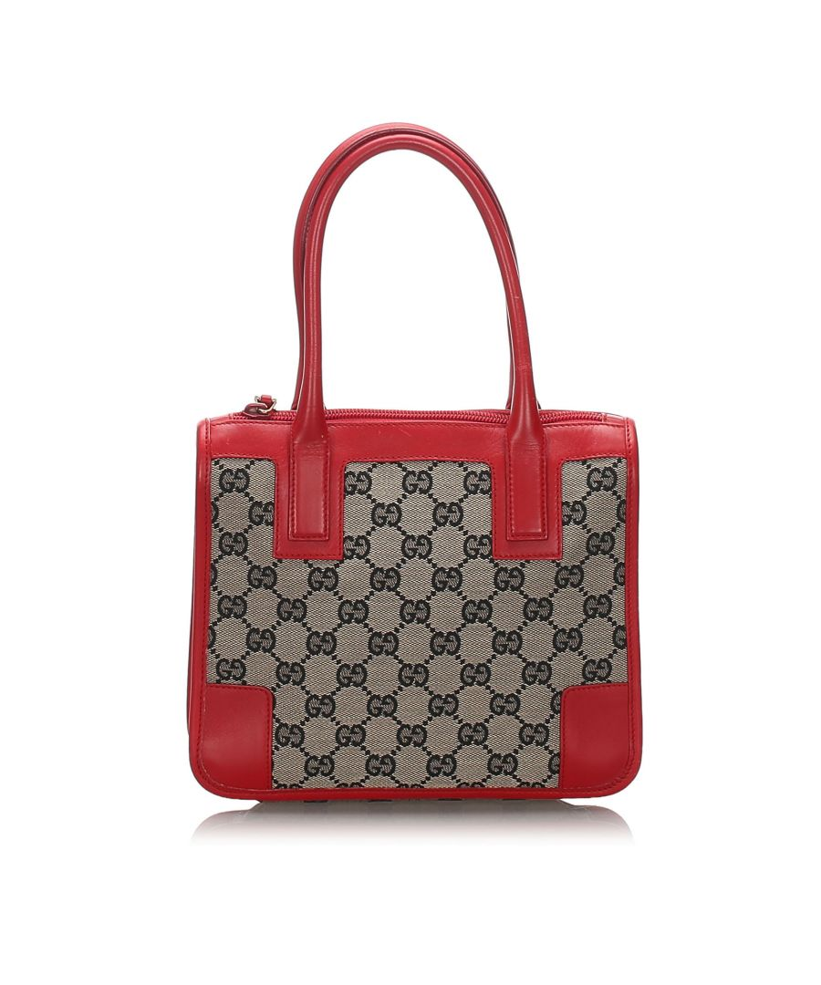 Image for Gucci GG Canvas Handbag Brown
