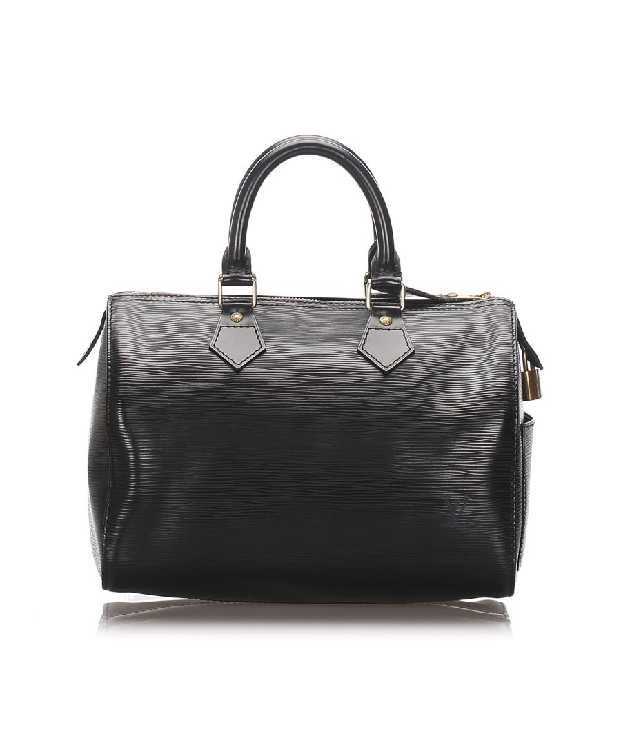Image for Vintage Louis Vuitton Epi Speedy 25 Black