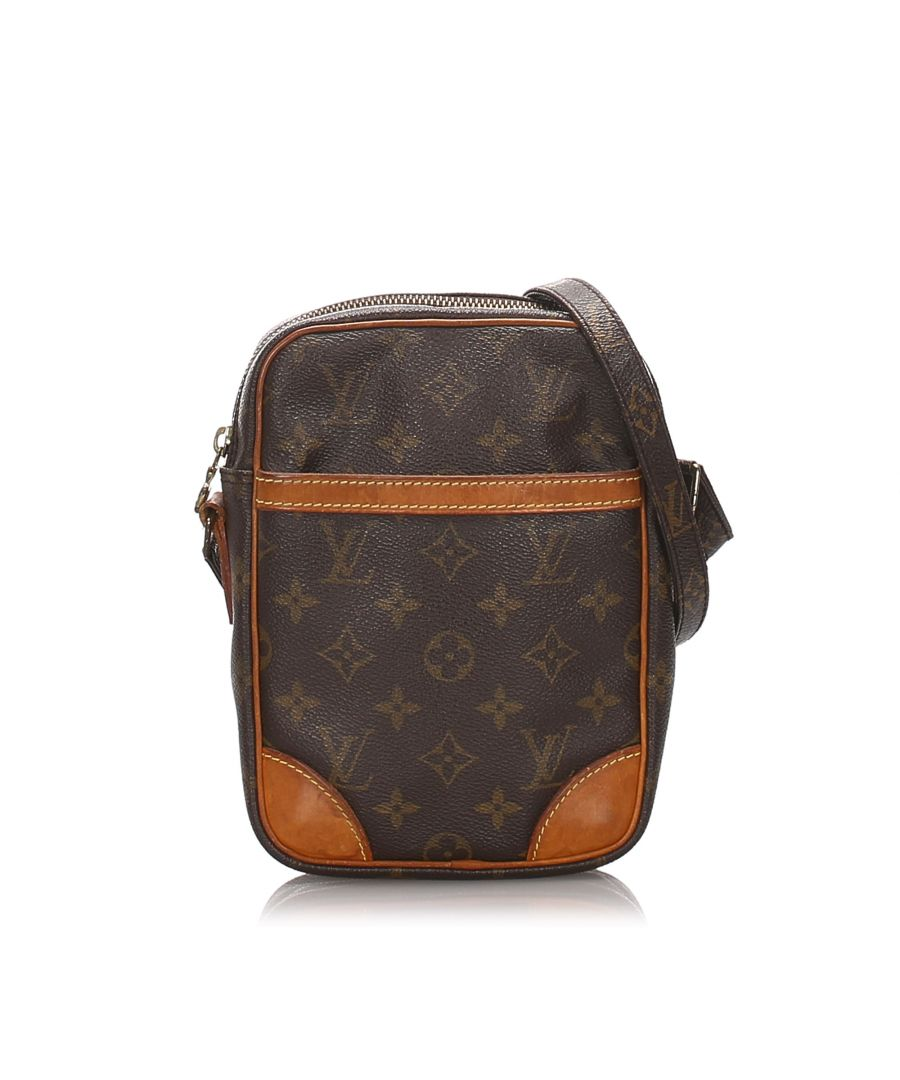 Image for Vintage Louis Vuitton Monogram Danube Brown