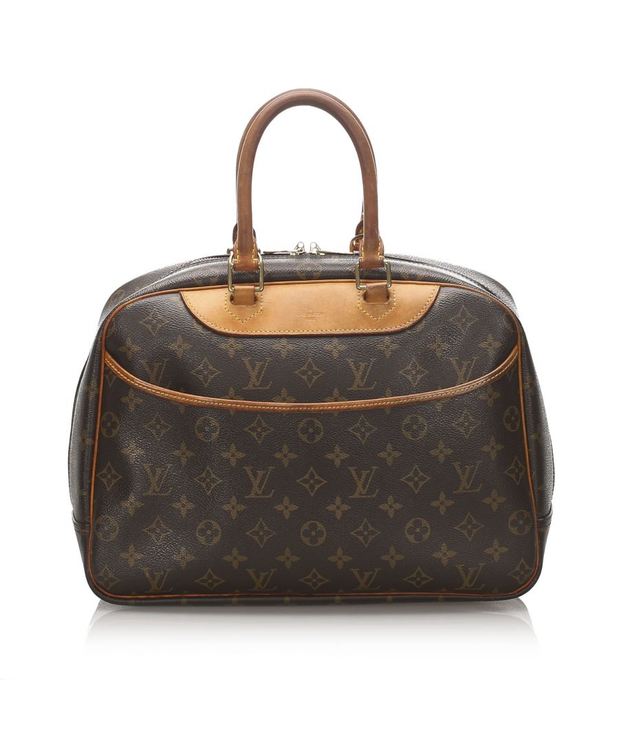 Image for Vintage Louis Vuitton Monogram Deauville Brown