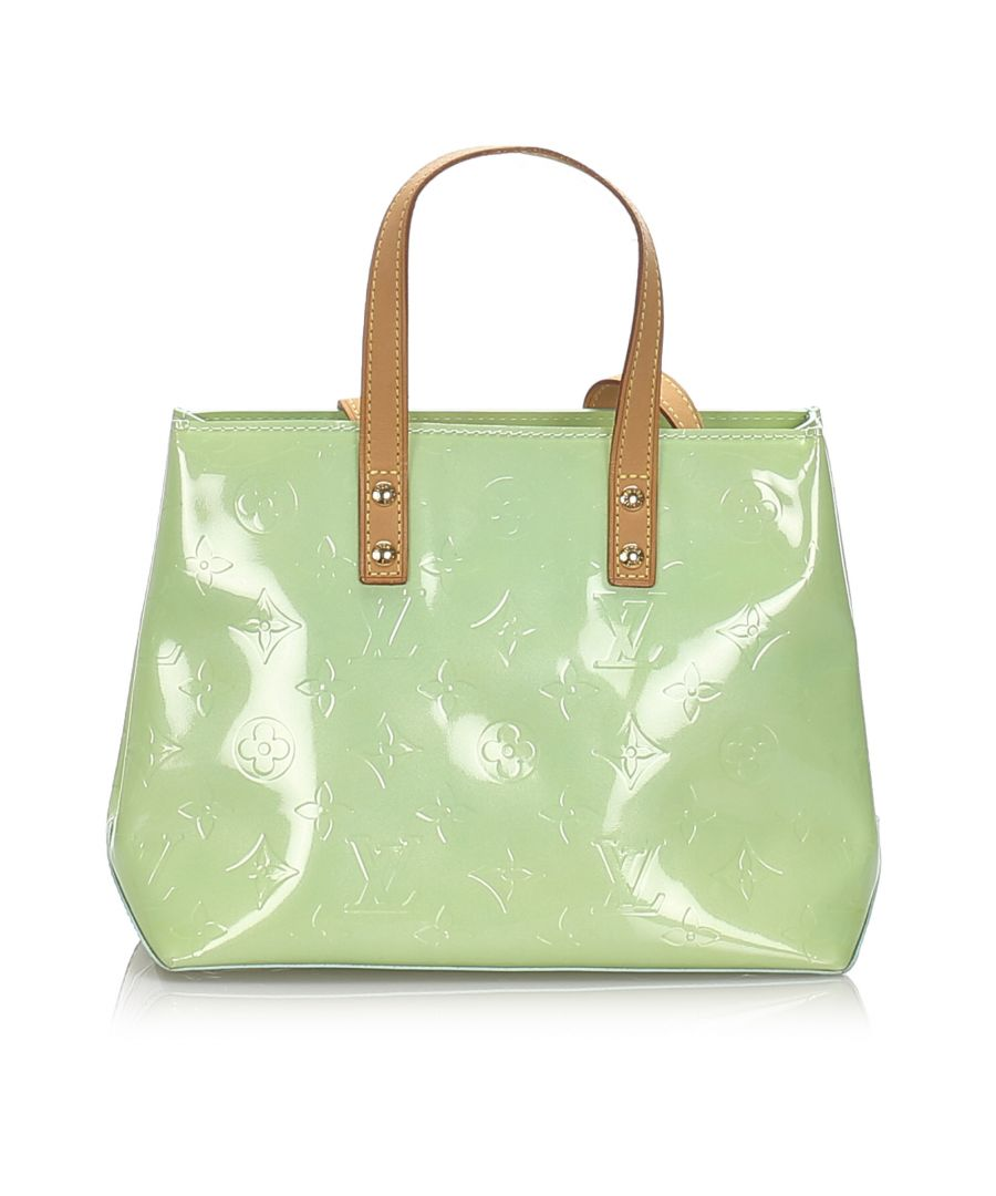 Image for Louis Vuitton Vernis Reade PM Green