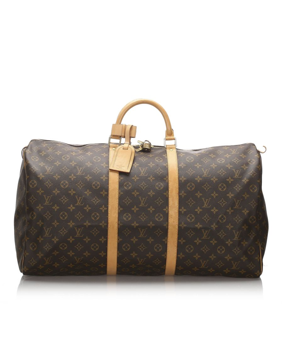 Image for Vintage Louis Vuitton Monogram Keepall 60 Brown