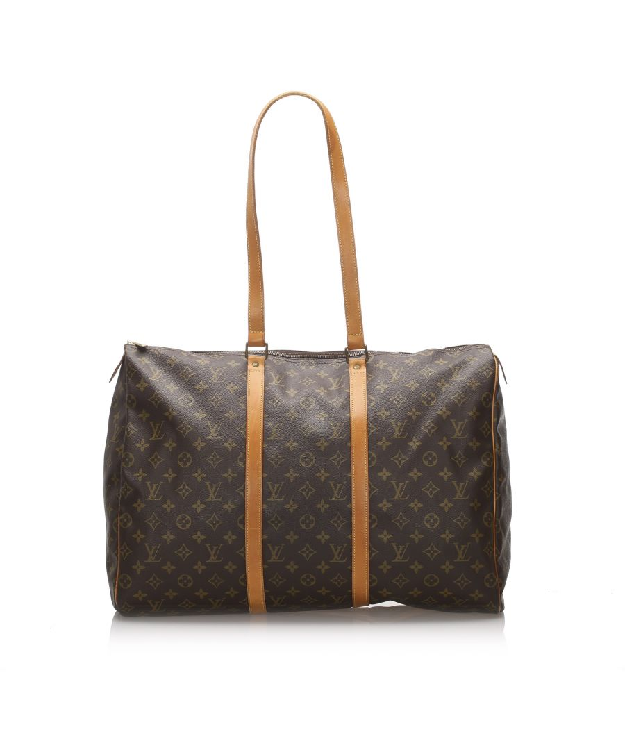 Image for Vintage Louis Vuitton Monogram Sac Flanerie 50 Brown