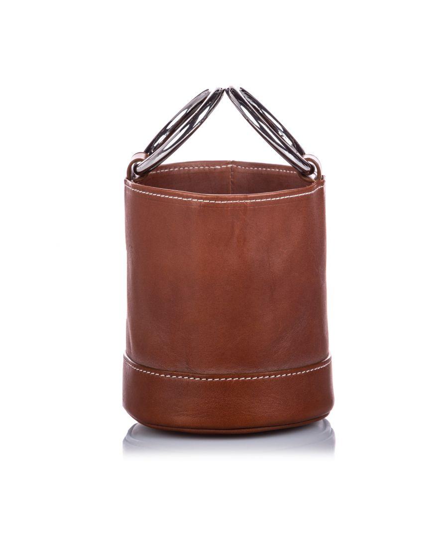 Image for Vintage Simon Miller Mini Bonsai 15 Bucket Bag Brown