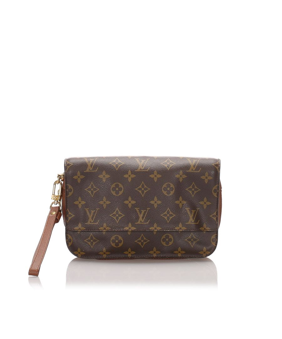 Image for Vintage Louis Vuitton Monogram Orsay Brown