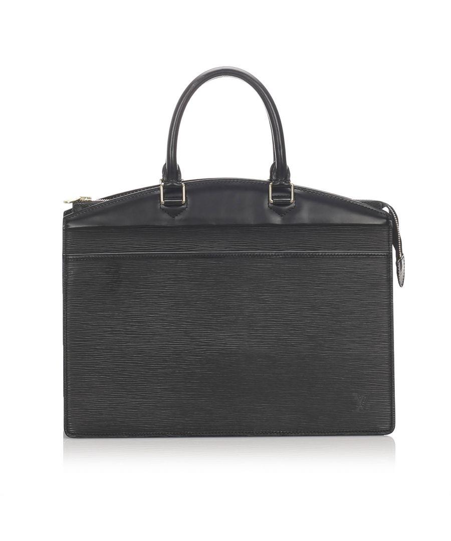 Image for Vintage Louis Vuitton Epi Riviera Black