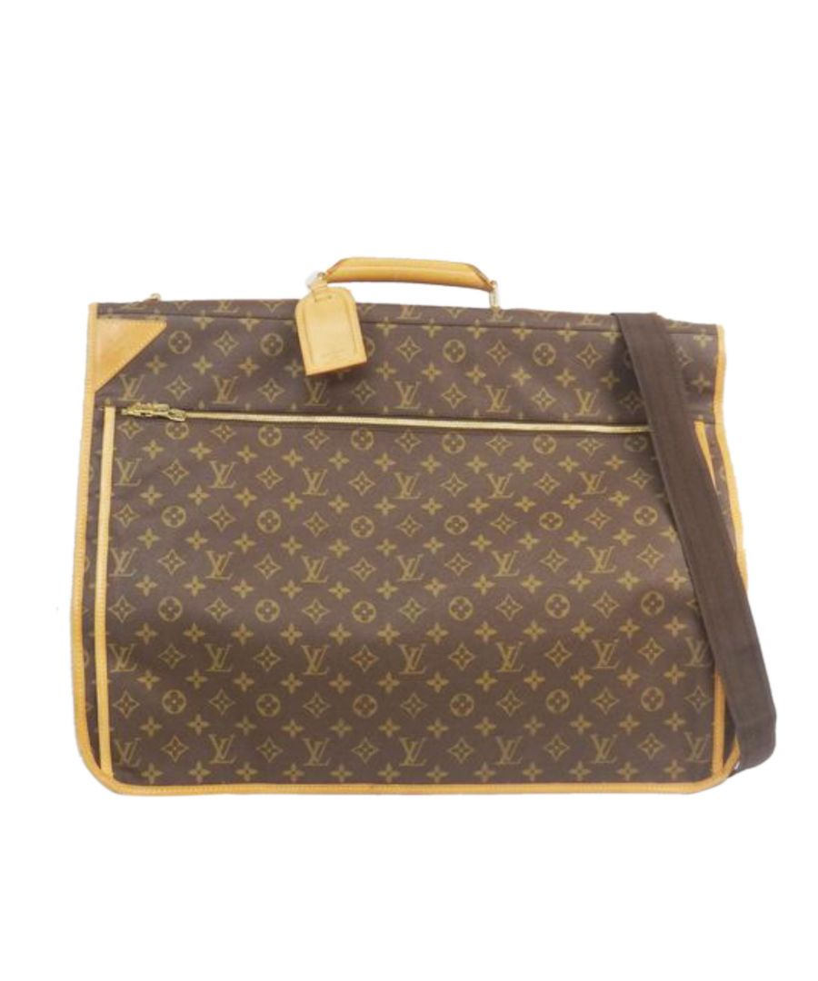 Image for Vintage Louis Vuitton Monogram Portable Bandouliere Brown