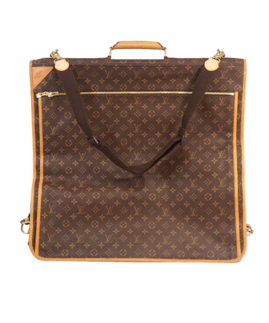 Image for Vintage Louis Vuitton Monogram Portable 5 Cintres Brown