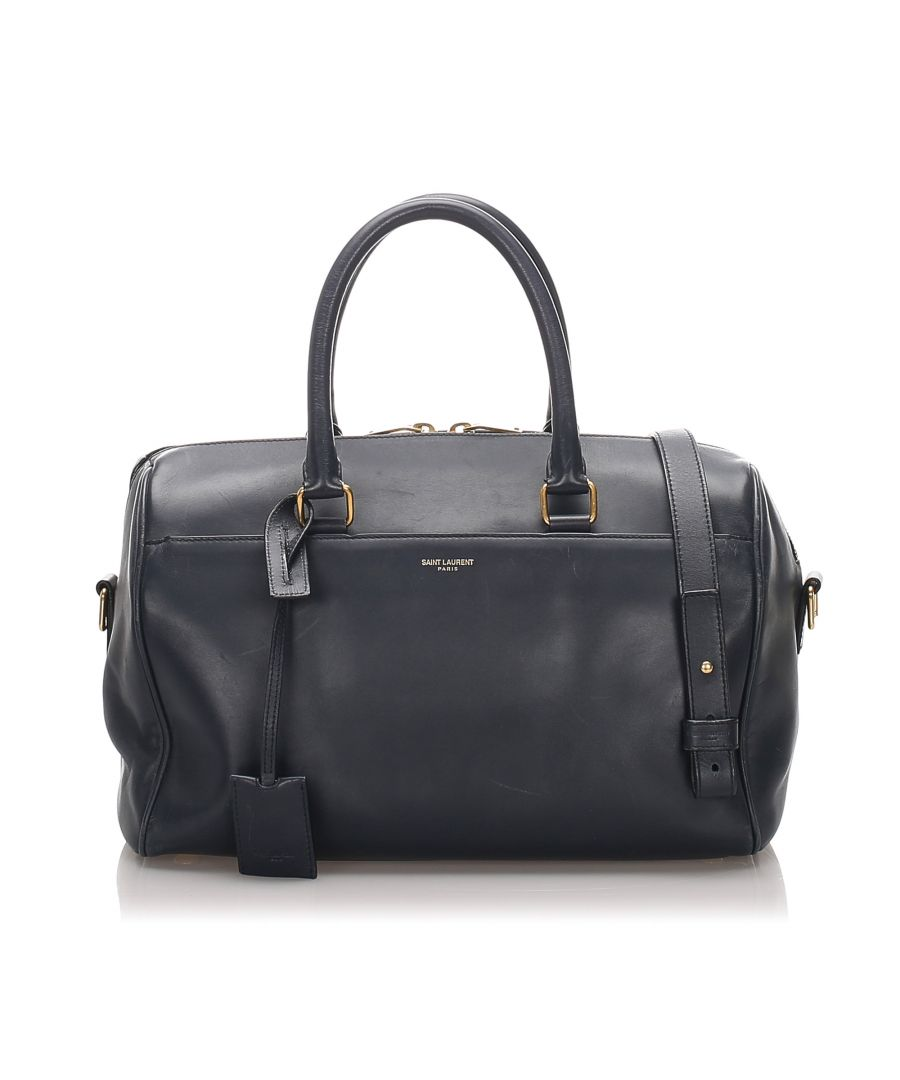 Image for Vintage YSL Classic Baby Duffle Bag Black