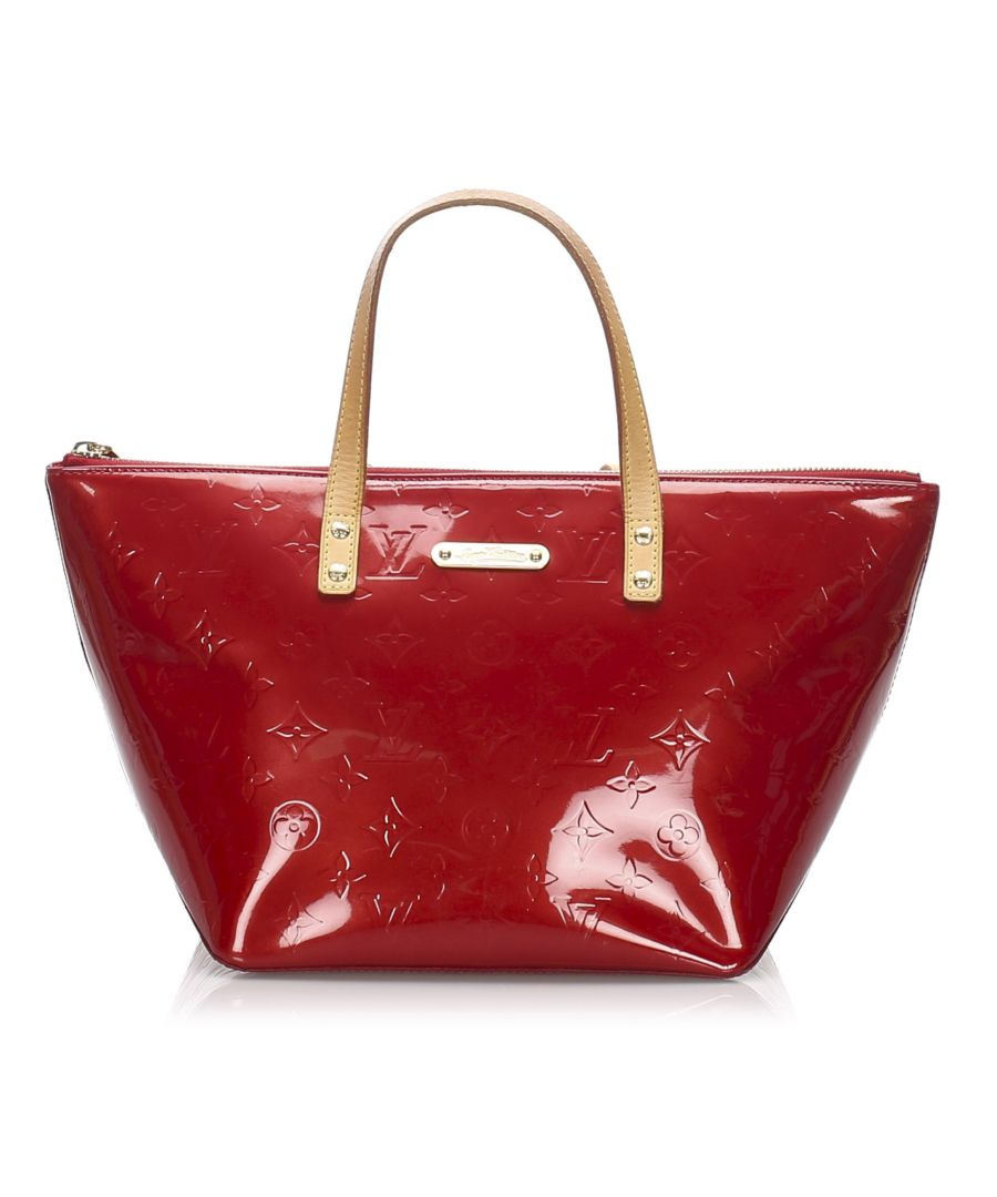 Image for Louis Vuitton Vernis Bellevue PM Red