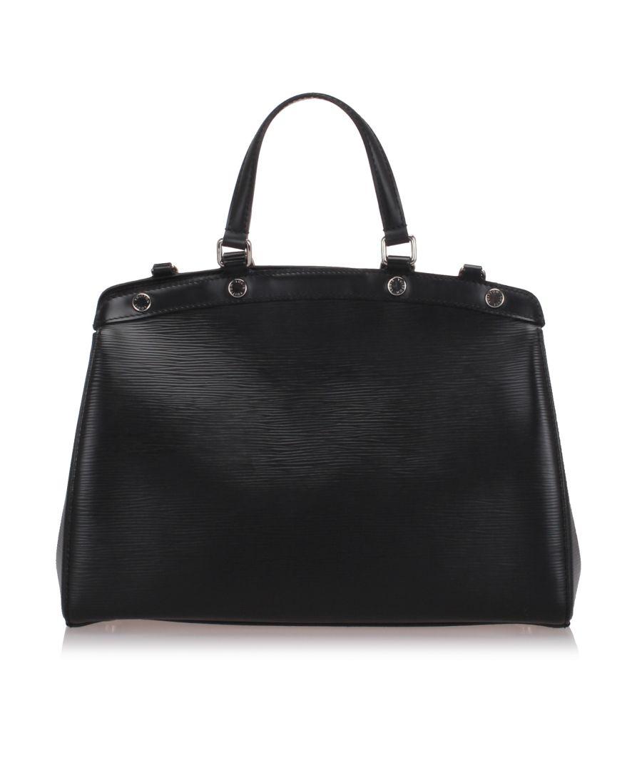 Image for Louis Vuitton Epi Brea MM Black