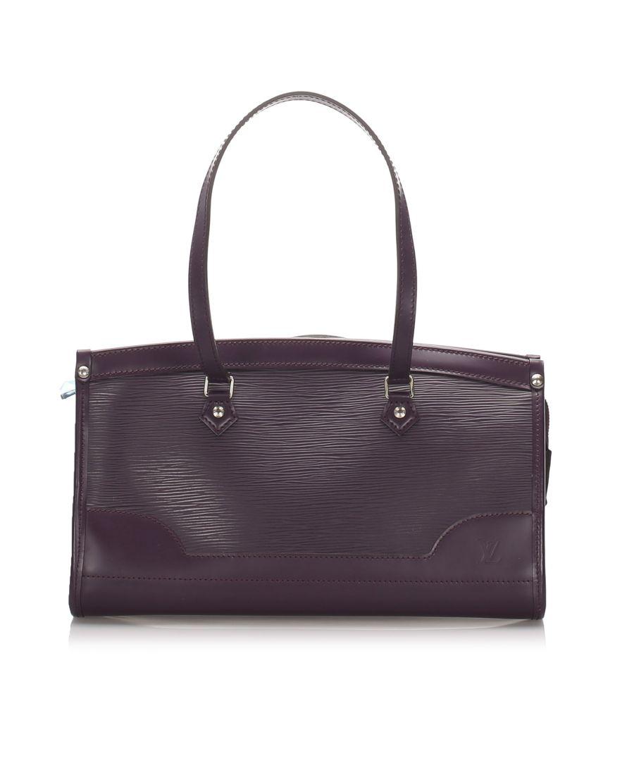 Image for Louis Vuitton Epi Madeleine PM Purple
