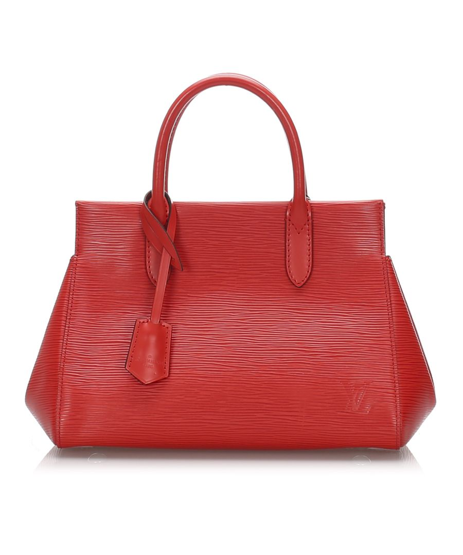 Image for Louis Vuitton Epi Marly BB Red