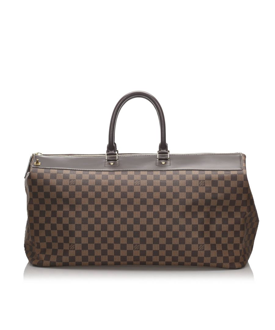 Image for Louis Vuitton Damier Ebene Greenwich GM Brown