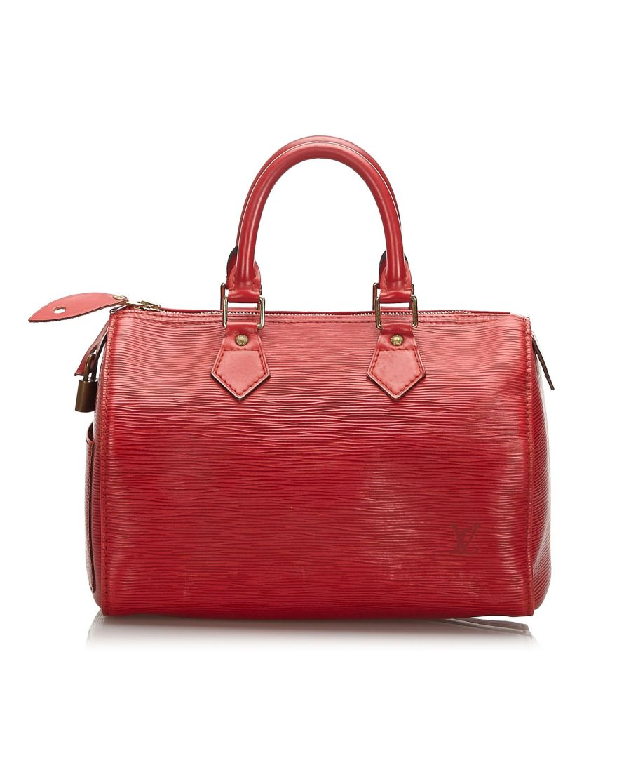 Image for Louis Vuitton Epi Speedy 25 Red