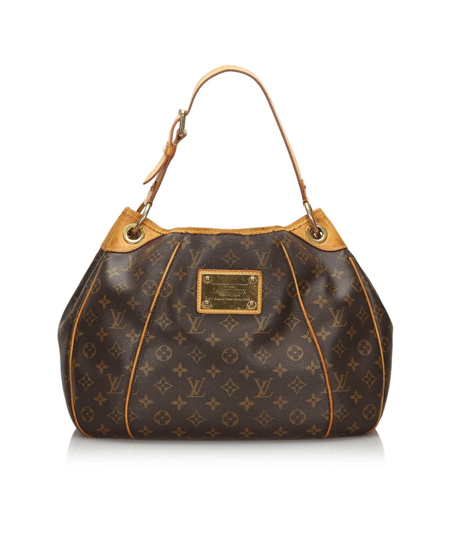 Image for Louis Vuitton Monogram Galliera PM Brown