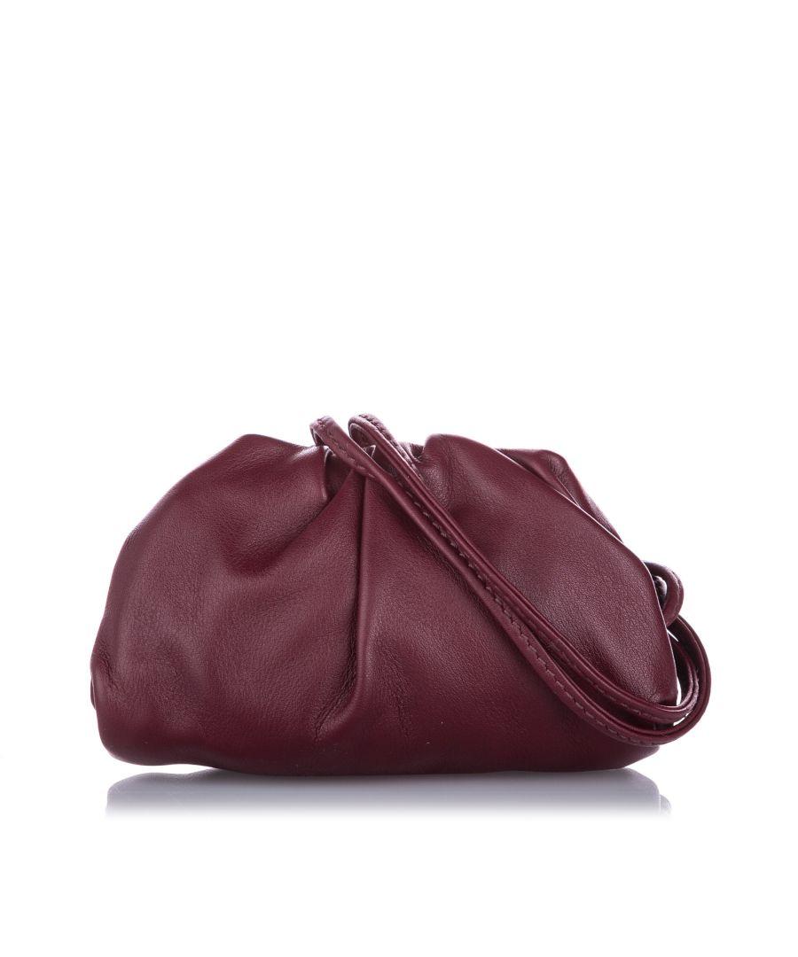 Image for Vintage Bottega Veneta The Mini Pouch Red