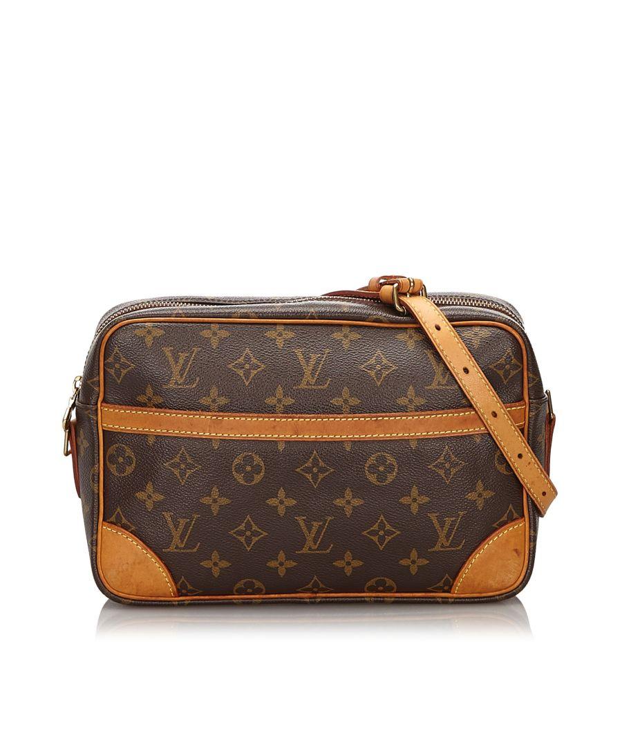 Image for Vintage Louis Vuitton Monogram Trocadero 27 Brown