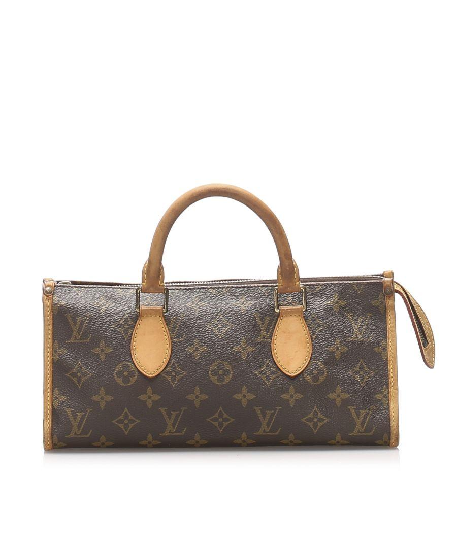 Image for Vintage Louis Vuitton Monogram Popincourt Brown