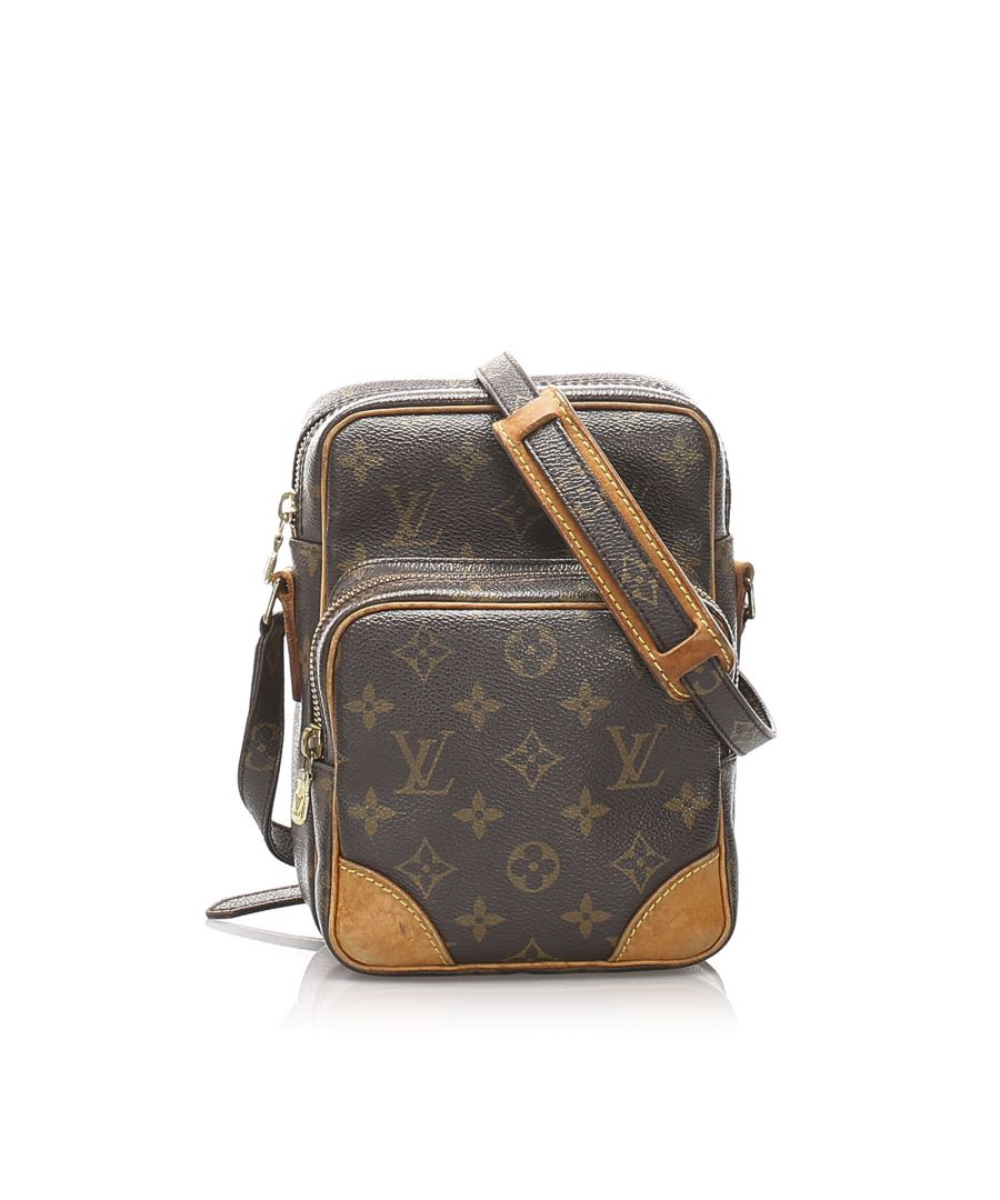 Image for Vintage Louis Vuitton Monogram Amazone Brown