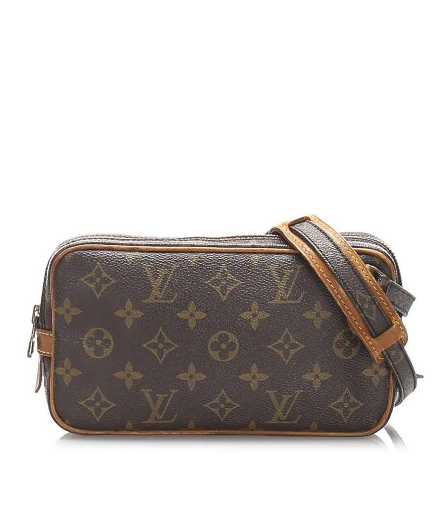 Image for Vintage Louis Vuitton Monogram Marly Bandouliere Brown