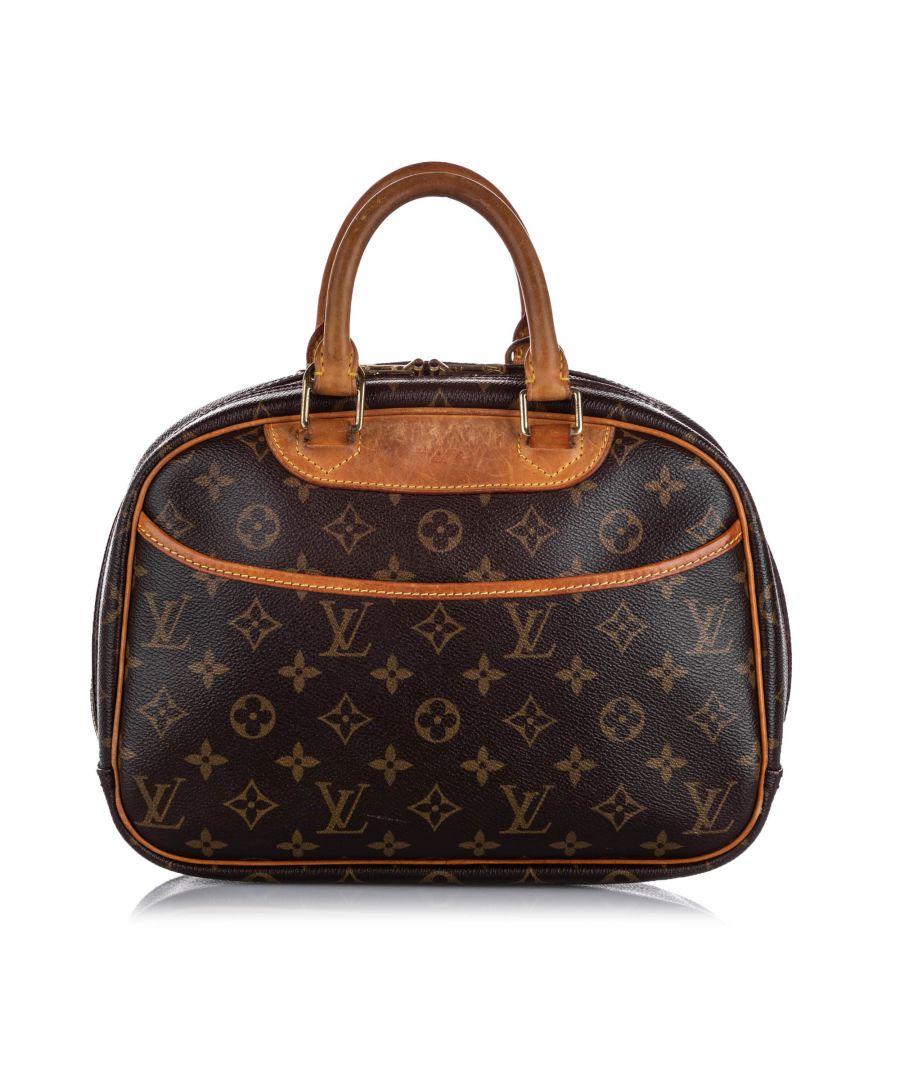 Image for Vintage Louis Vuitton Monogram Trouville Brown