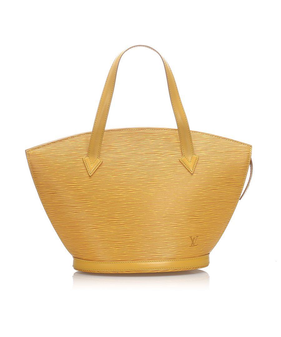 Image for Vintage Louis Vuitton Epi Saint Jacques PM Short Strap Yellow