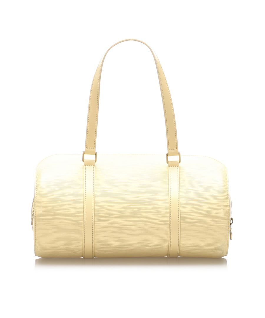 Image for Vintage Louis Vuitton Epi Soufflot White
